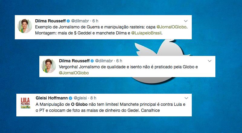 1 - O Globo: Falta de ética, a gente vê por aqui