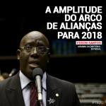 A amplitude do arco de alianças para 2018