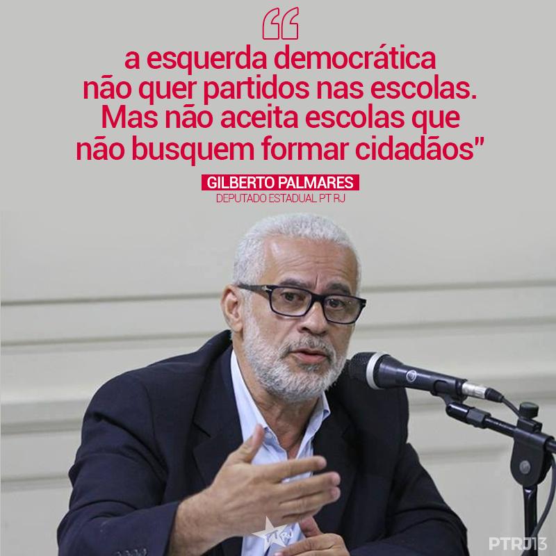 GILBERTO PALMARES - Gilberto Palmares: em defesa da Escola com Cidadania