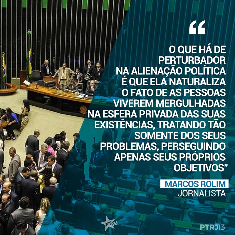 MARCOS ROLIM 2 - Política e irrelevância