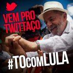 #TôComLula é domina o twitter no dia 13
