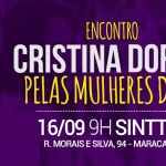 Encontro Cristina Dorigo pelas Mulheres do PT