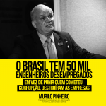 Murilo Pinheiro: O Brasil tem 50 mil engenheiros desempregados