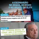 A escravidão no Brasil do povo e no Brasil da elite