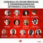 Conheça os novos Secretários Setoriais do PTRJ!