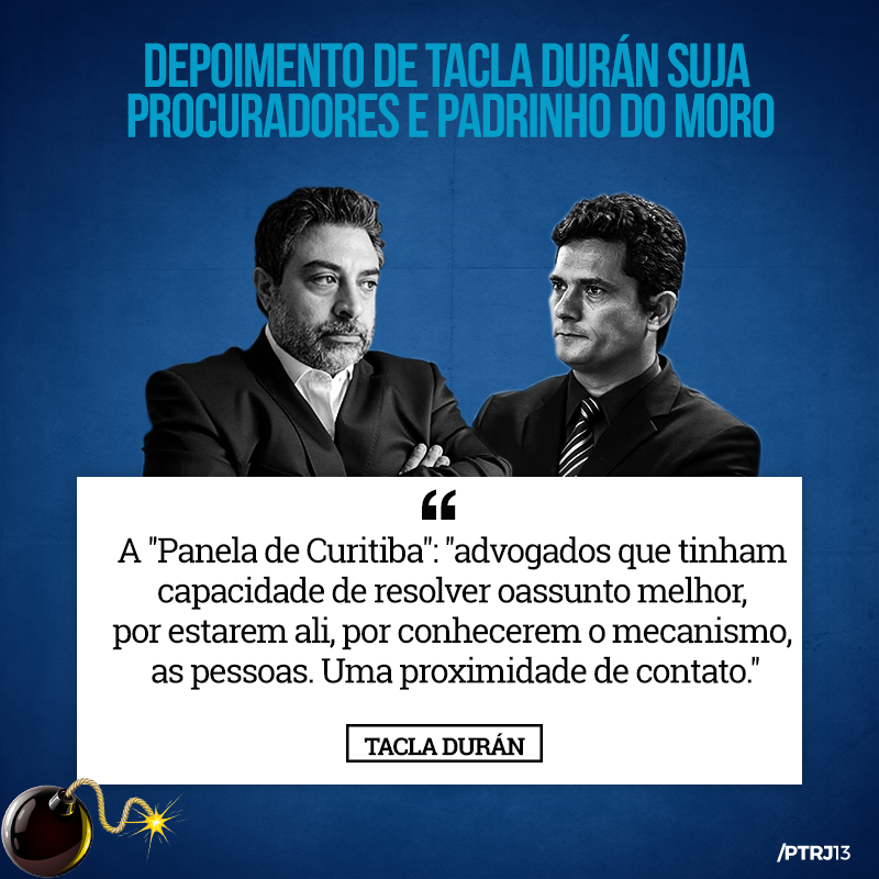 tacla duran 2 - Tacla Duran: Uma pá de cal na reputação de Moro