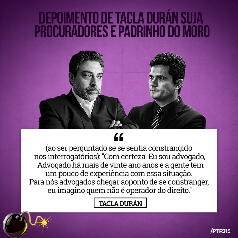 tacla duran 4 1 - Tacla Duran: Uma pá de cal na reputação de Moro