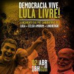 Ato Em Defesa da Democracia e contra o fascismo.