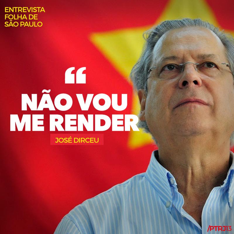 """f8d9a4f6 24c4 4d36 99c0 9fa691998ab8 - Zé Dirceu à Folha: """"vou ler, estudar e fazer política"""""""