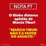 #FakeNews : O  Globo distorce Marcia Tiburi
