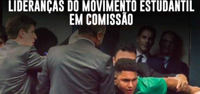 38382733 0D2B 408B A26D BB4FE35AFE86 676x320 - Selvageria em Brasília: deputados governistas agridem lideranças do movimento estudantil em comissão