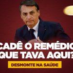 Maior parte dos remédios suspensos por Bolsonaro são para tratamento de câncer; veja lista