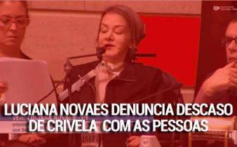 cropped Luciana Novaes x Marcelo Crivella 338x210 - Rio: Vereadora Luciana Novaes denuncia a situação dos abrigos da cidade