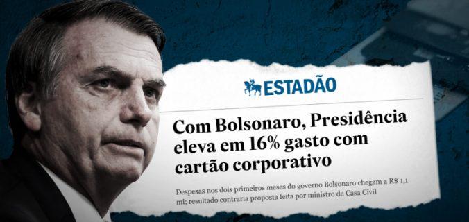 card cartao corporativo site 780x440 676x320 - Bolsonaro abusa do cartão de crédito da presidência da República