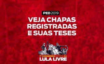 ped 2019 teses 338x210 - PED 2019: Veja as teses registradas para a etapa Rio de Janeiro