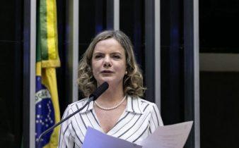 cropped gleisi hoffmann gabriel paiva  338x210 - Gleisi: desgoverno Bolsonaro pratica a 'ideologia do desmonte'