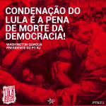 Condenação do Lula é a pena de morte da democracia!