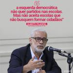 Gilberto Palmares: em defesa da Escola com Cidadania