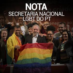 nota e1505944742100 - Nota da Secretaria Nacional LGBT do PT