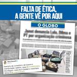 O Globo: Falta de ética, a gente vê por aqui