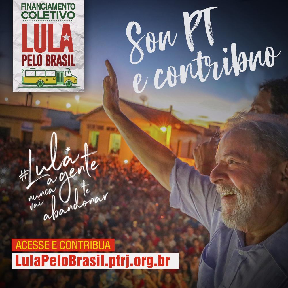 FINANCIAMENTO COLETIVO 7 - Sou companheiro e contribuo: o crowdfunding do #LulaPeloBrasil