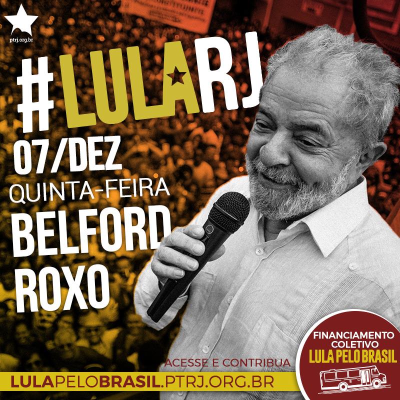 belford roxo - #LulaPeloBrasil etapa RJ