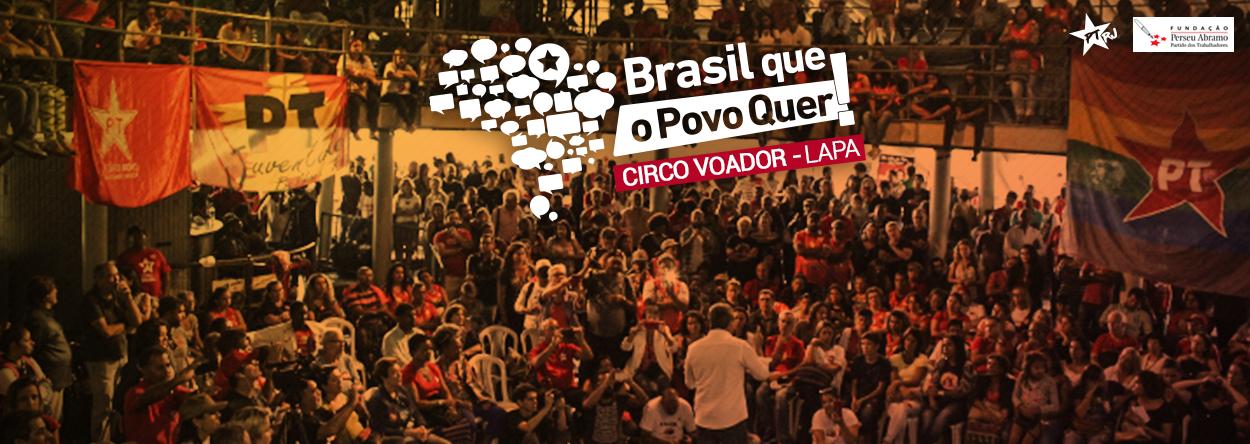 brasil que o povo quer rj 1 - Brasil que o Povo Quer: Lançamento da plataforma no Rio de Janeiro