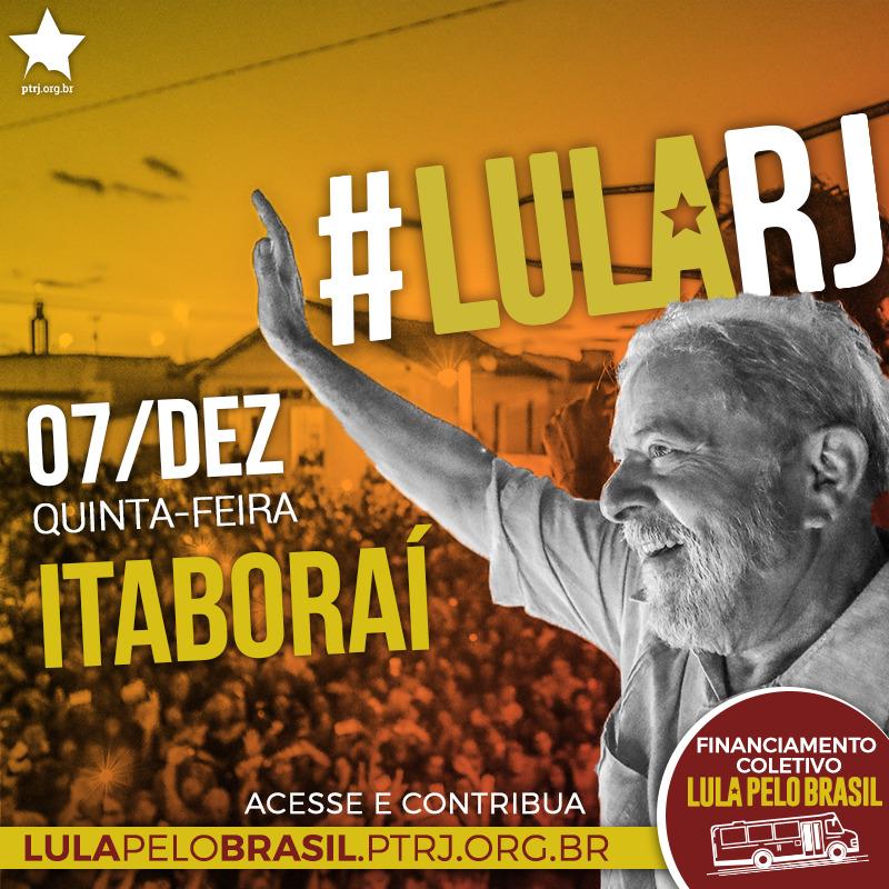 itaborai - #LulaPeloBrasil etapa RJ