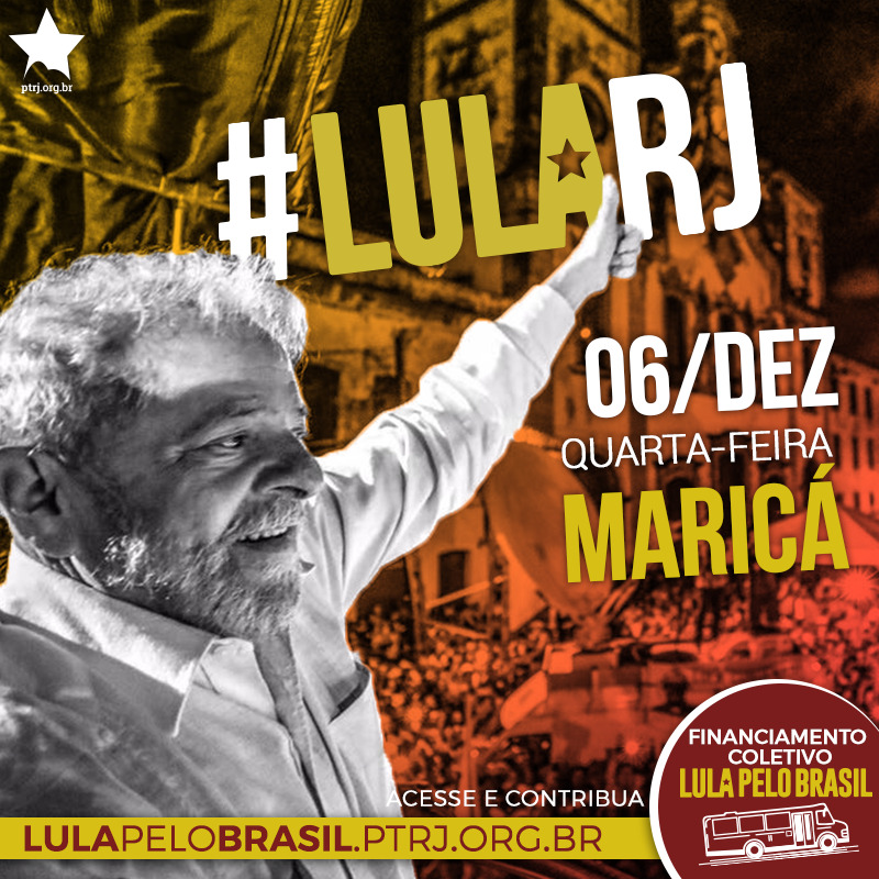 marica - #LulaPeloBrasil etapa RJ