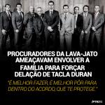 Tacla Durán diz que procuradores da Lava Jato ameaçaram sua família para forçar delação