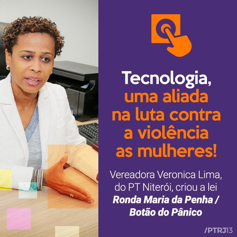 WhatsApp Image 2017 12 15 at 12.24.49 - Vereadora Verônica Lima, propõem aplicativo de monitoramento para mulheres.