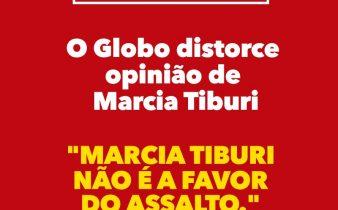 545f9c51 a91c 4b70 b372 a39697797775 338x210 - #FakeNews : O  Globo distorce Marcia Tiburi