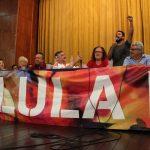Lançamento do Comitê Estadual Lula Livre reúne a esquerda no Rio de Janeiro