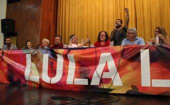 WhatsApp Image 2019 04 10 at 15.55.55 338x210 - Lançamento do Comitê Estadual Lula Livre reúne a esquerda no Rio de Janeiro