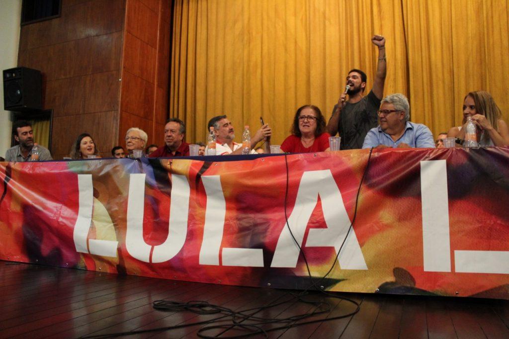 WhatsApp Image 2019 04 10 at 15.55.55 - Lançamento do Comitê Estadual Lula Livre reúne a esquerda no Rio de Janeiro