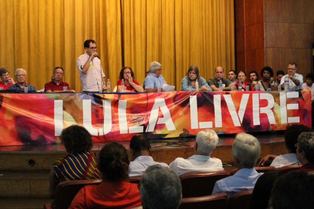WhatsApp Image 2019 04 10 at 15.55.56 1 - Lançamento do Comitê Estadual Lula Livre reúne a esquerda no Rio de Janeiro