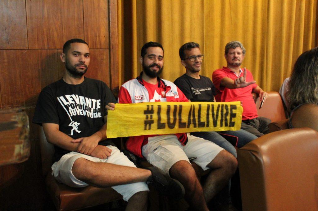 WhatsApp Image 2019 04 10 at 15.55.57 2 - Lançamento do Comitê Estadual Lula Livre reúne a esquerda no Rio de Janeiro