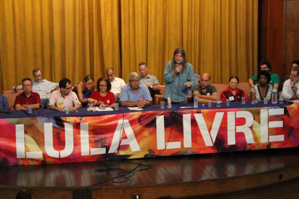 WhatsApp Image 2019 04 10 at 15.55.57 - Lançamento do Comitê Estadual Lula Livre reúne a esquerda no Rio de Janeiro