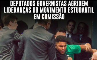 38382733 0D2B 408B A26D BB4FE35AFE86 338x210 - Selvageria em Brasília: deputados governistas agridem lideranças do movimento estudantil em comissão