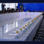 Bolsonaro convida bancada nordestina para café da manhã, quase ninguém aparece e sobraram laranjadas