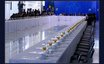 68B419C9 2CD0 44F5 9E9F 597F092CC196 338x210 - Bolsonaro convida bancada nordestina para café da manhã, quase ninguém aparece e sobraram laranjadas