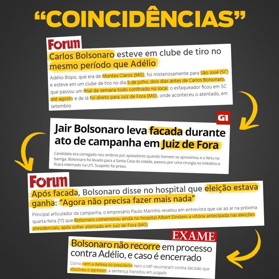 Bolsonaro não recorre e caso da facada é arquivado