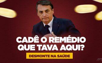Corte remédios Sus governo 338x210 - Maior parte dos remédios suspensos por Bolsonaro são para tratamento de câncer; veja lista