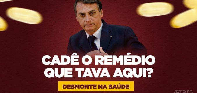 Corte remédios Sus governo 676x320 - Maior parte dos remédios suspensos por Bolsonaro são para tratamento de câncer; veja lista