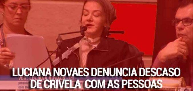 cropped Luciana Novaes x Marcelo Crivella 676x320 - Rio: Vereadora Luciana Novaes denuncia a situação dos abrigos da cidade
