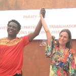 Paraty: Ronaldo e Gabriela representarão o PT nas eleições suplementares.