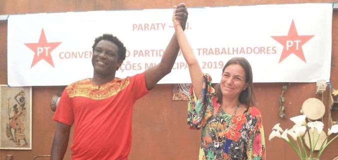 cropped Paraty Ronaldo e Gabriela 2018 676x320 - Paraty: Ronaldo e Gabriela representarão o PT nas eleições suplementares.