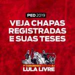 PED 2019: Veja as teses registradas para a etapa Rio de Janeiro