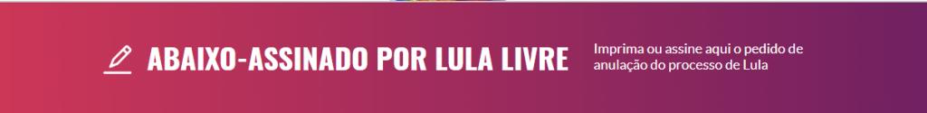 Manifesto Lula Livre