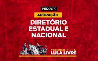 cropped PED RJ 2019 2 338x210 - PED 2019/RJ. Apuração Diretório Estadual e Nacional